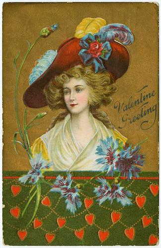 010- Saludos de San Valentin 1910