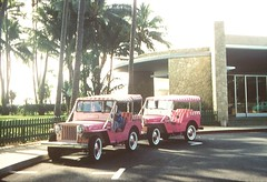 1959 Willy's Jeeps (emmdee) Tags: hawaii waikiki honolulu 1959 waikikiaquarium