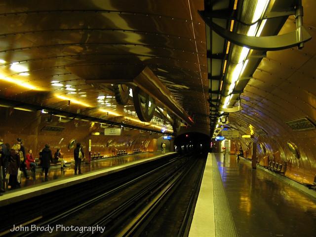 Paris Métro station Arts et Métiers