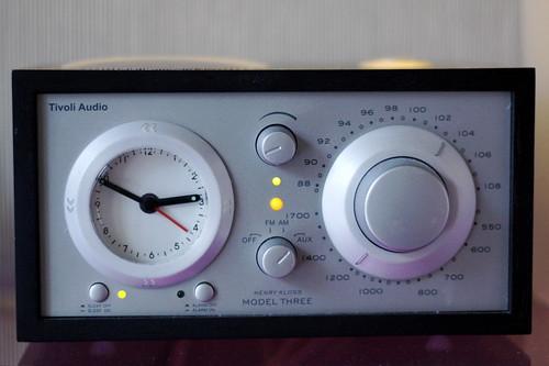 touchable alarm clock