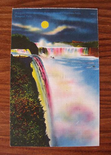 Old Niagara Falls Postcard