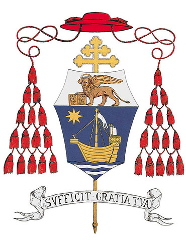 pallio di S.E. Cardinale Angelo Scola