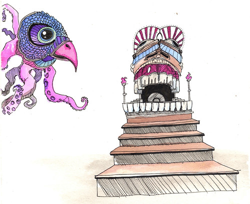 Octobird by Colin Curry