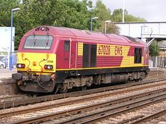67 028  Eastleigh  22-09-04 (Gray Callaway) Tags: eastleigh class67