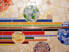Backsplash - detail (stiglice - Judit) Tags: wall colorful mosaic backsplash