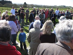 Medusa's Wildlife Meadow opening with Alan Titchmarsh. Isle of Wight