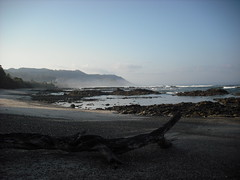 Mal Pais beach in the morning, low tide
