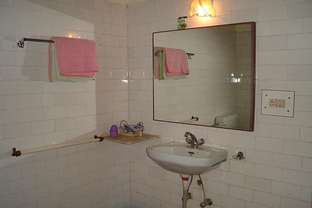Bath Room in AC Room Bandhavgarh by bandhavgarh