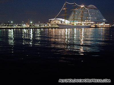 Very beautiful seaview at night