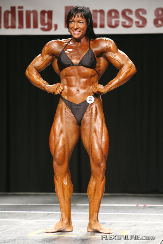 7- Extreme Body Building - Irene Anderesen