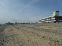 Southend On Sea Town Centre From The Beach. (Ceiridwen) Tags: abandoned beach town stones warehouse ugly southend