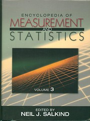 Encyclopedia Of Measurement & Statistics : 3 Vols (lwtclearningcommons) Tags: engineering statistics reference measurement styel mmdp lwtclearningcommons