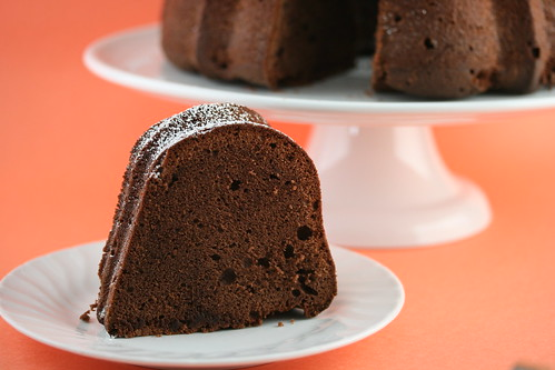 Food Librarian - Paula Deen's Chocolate Cream Cheese Pound Cake