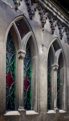 Colors in stone frame /     (Tr@mb) Tags: color window stone cathedral gothic frame