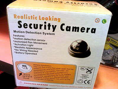 Fake security camera for sale