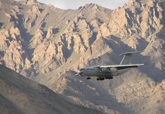 Use your Ilyushin (wildxplorer) Tags: india leh ladakh jammu il76 iaf indianairforce ilyushinil76 wildxplorer