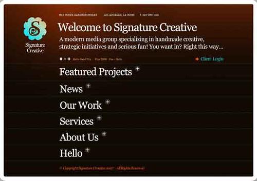Signature-Creative