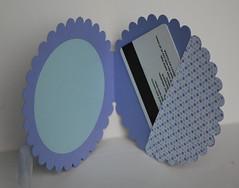 Inside Circle Scallop card (louisemorcharlton) Tags: heroarts mayflowers diecuts 2009catalog