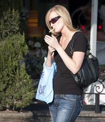 Smoker (San Diego Shooter) Tags: sandiego streetphotography womansmoking sandiegopeople sandiegostreetphotography