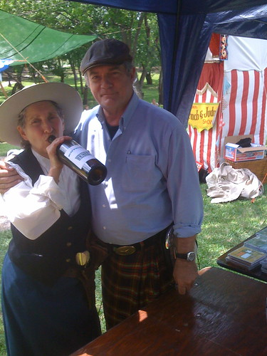 here is me with calamity jane