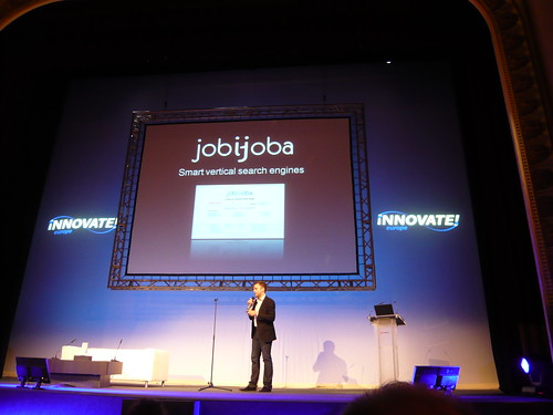 Francois Goube Innovate!Europe 2009