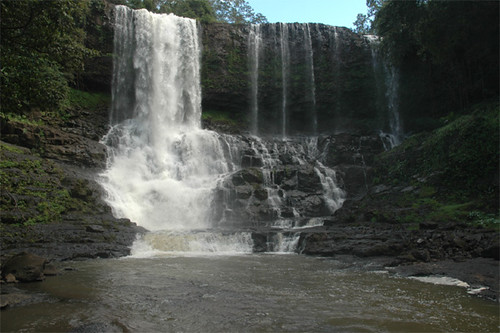 Bou Sra waterfalls