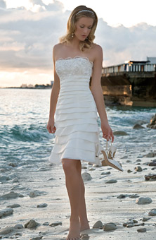 Beach Wedding Dresses Collections