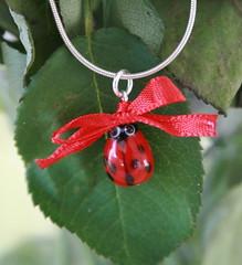 Red Ladybird pendant