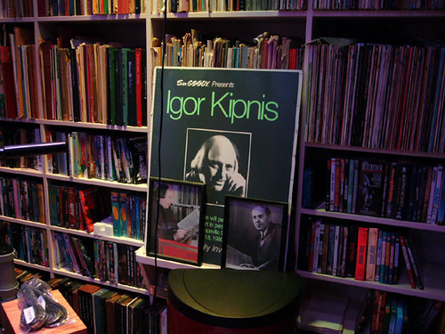 Igor Kipnis poster Kipnis Studio