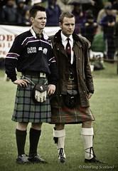 Clan Chieftain: Ewan McGregor (FotoFling Scotland) Tags: scotland glasgow perthshire piper crieff highlandgames ewanmcgregor glasgowgreen 2001crieff