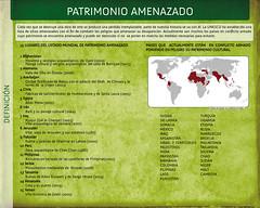 """Panel 3, Exposición """"S.O.S. Patrimonio"""""""
