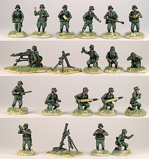 20mm Warmodelling German Support Weapons