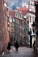 Prague Steps (Trouvaille Blue) Tags: travel castle tourism stairs czech prague steps praha prazske prazskeschody trouvailleblue