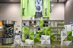X-Board Sustainability Vicotria Exhibition Booth