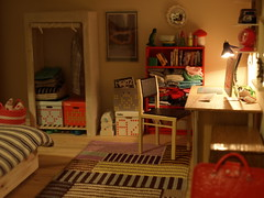 (*annina*) Tags: ikea modern miniature bedroom imac handmade wardrobe 112 dollhouse dollshouse mebox unnirand