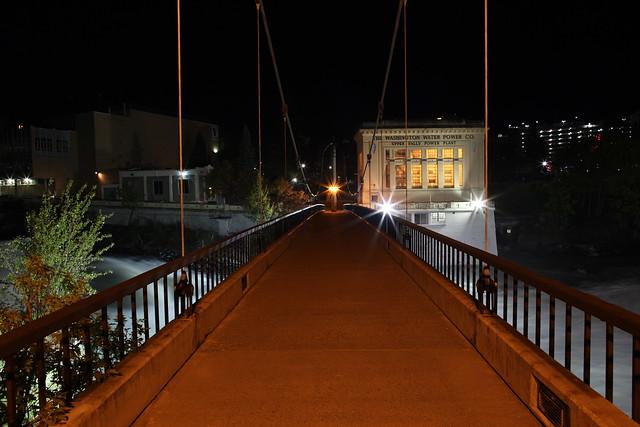 Spokane Falls by Night
