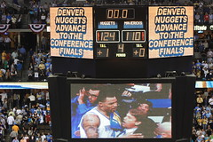 Denver Nuggets advance to the Western Conference Finals...