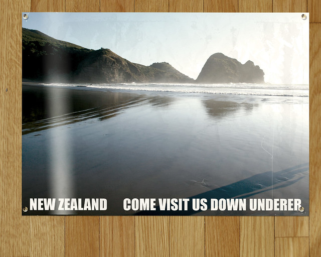 New Zealand, Come Visit Us Down Underer