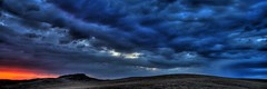 Spring Storm, Madera, CA.  June 5, 2009 (Robert Pearce Photography) Tags: california storm rain june clouds landscape spring madera panoramic sierra thunderstorm 31 hdr nikond200 tonemapping photomatrix robertpearce sierrasolstice robertpearce californiathunderstorms daltonranch