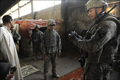 Baghdad patrol (The U.S. Army) Tags: army iraq baghdad soldiers usarmy combatcamera comcam soldiersmediacenter