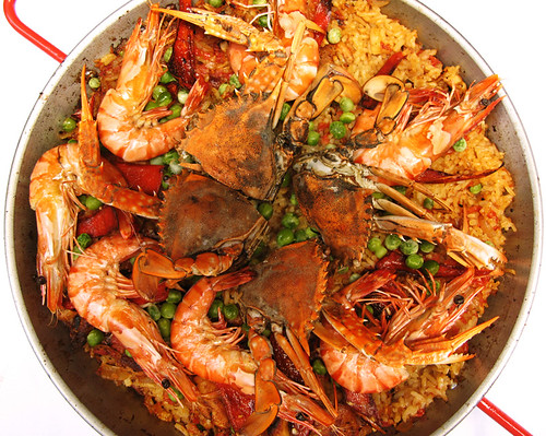 Paella (top)