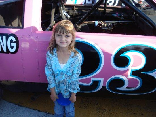 Speedway - Karli's fav pink car