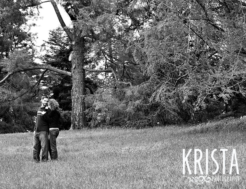 Arboretum Engagement Session