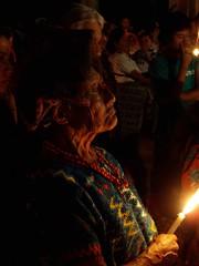 Procesión antes de Semana Santa - procession p...