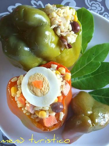 peperoni ripieno di insalata di riso 012