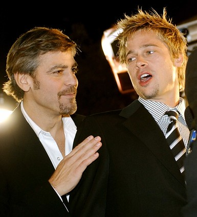 Bromance: George Clooney and Brad Pitt
