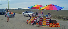 Fruit Stand in Lemoore, CA (Salon de Maria) Tags: california fruitstand lemoore