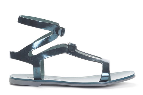Gladiator Flat With Buckles