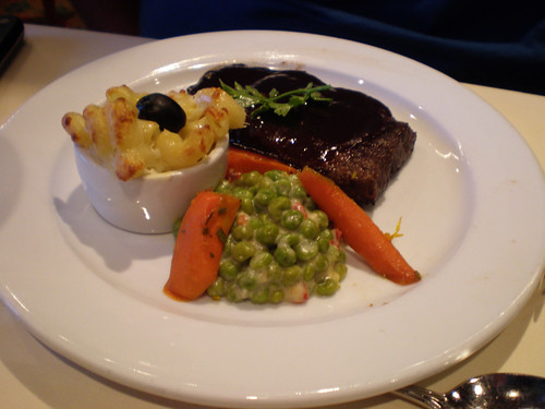 Carnival Elation - Flat Iron Steak (Imagination Dining Room)