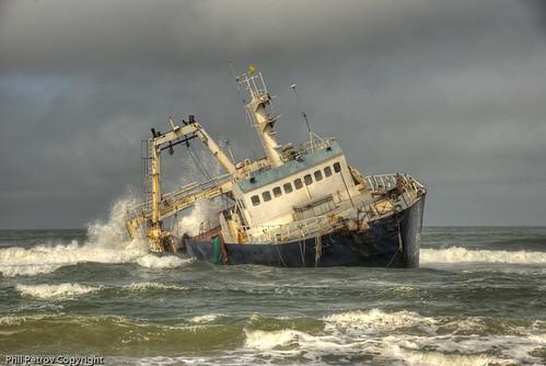 Skeleton Coast victim スケルトンコースト(骸骨海岸)